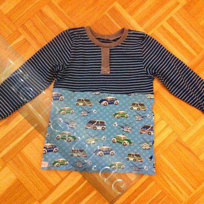 Henley-Shirt mit Fakeleiste
