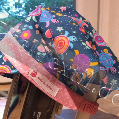 Kopftuch mit Schirm